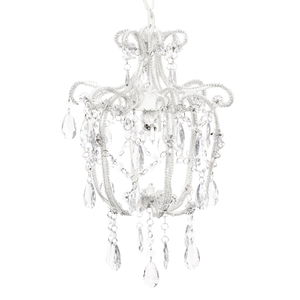 Bark & Blossom Crystal Chandelier