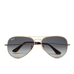 Ray-Ban Large Aviator Sunglasses - Metal Gold