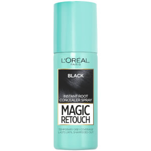 Spray Instantâneo Corretor de Raízes L'Oréal Paris Magic Retouch - Preto (75ml)