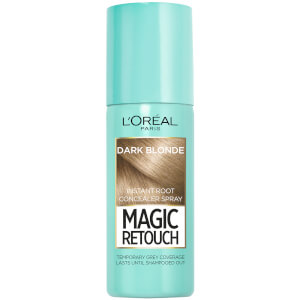 Spray para cubrir las canas?Magic Retouch Instant Root Concealer Spray - Rubio oscuro?de L'Oréal Paris (75 ml)