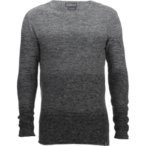 Jack & Jones Men's Originals Basket Knit Jumper - Grey Melange