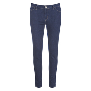 Carhartt Women's Anny Skinny Fit Ankle Jeans - Blue Rinsed
