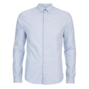 Calvin Klein Men's Enser Long Sleeve Shirt - Sky Way