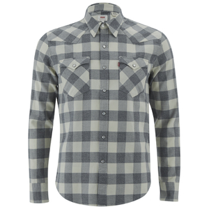 Levi's Men's Barstow Western Shirt - Chalky White