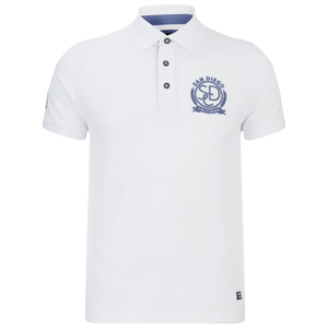 Produkt Men's Embroidered Polo Shirt - White