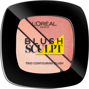 L'Oréal Paris Infallible Sculpting Trio Blush - Nude Beige