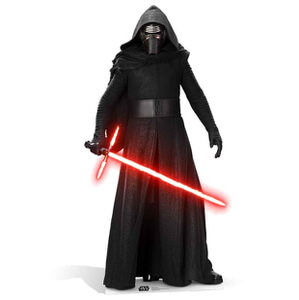 Star Wars The Force Awakens Kylo Ren Life Size Cut Out