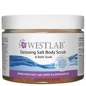 Westlab排毒型喜马拉雅山岩盐身体磨砂膏