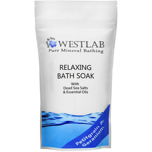 Westlab Relax Dead Sea Salt Bath Soak (500g)