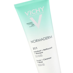Vichy Normaderm 3-in-1 Cleansing + Scrub + Mask 125ml: Image 2