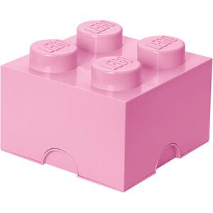 LEGO Aufbewahrungsbox 4 Noppen - Lila
