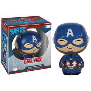 Marvel Captain America Civil War Captain America Dorbz Figur