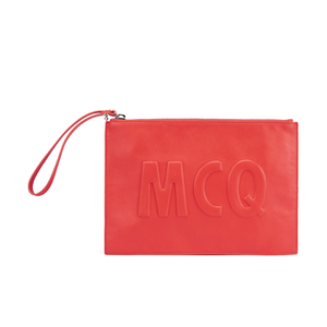 McQ Alexander McQueen Women's MCQ Pouch Bag - Coral Red