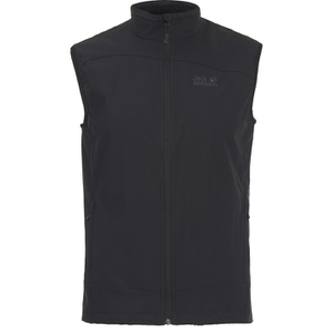 Jack Wolfskin Men's Activate Softshell Vest - Black