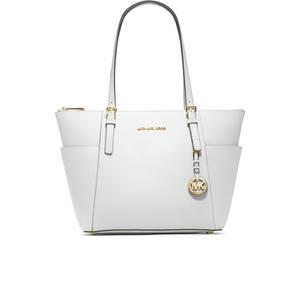 MICHAEL MICHAEL KORS Women's East West Tote Bag - Optic White