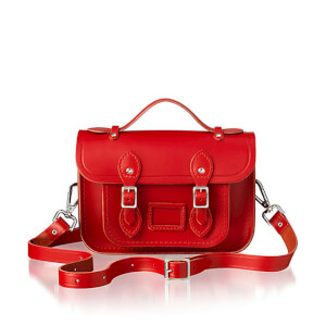 The Cambridge Satchel Company Women's Mini Magnetic Satchel - Red