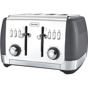 Breville VTT764 Strata Collection Toaster - Grey