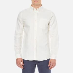 A.P.C. Men's Surchemise Bruce Long Sleeved Shirt - White