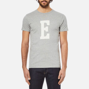 Edwin Men's Logo Type 3 T-Shirt - Grey Marl