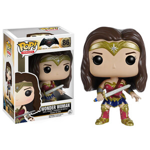 Figurine Pop! Wonder Woman Batman v Superman : L'Aube de la Justice DC Comics