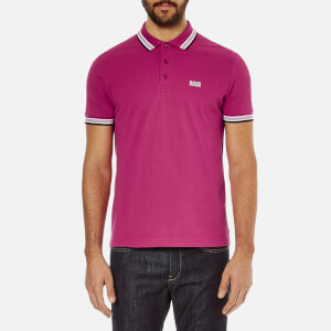 BOSS Green Men's Paddy Polo Shirt - Bright Pink
