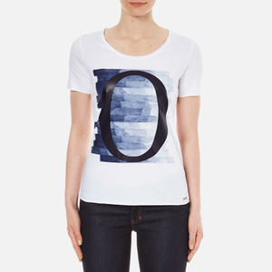 BOSS Orange Women's O T-Shirt - White