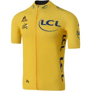 Le Coq Sportif Men's Tour de France 2016 Leaders Official Premium Jersey - Yellow