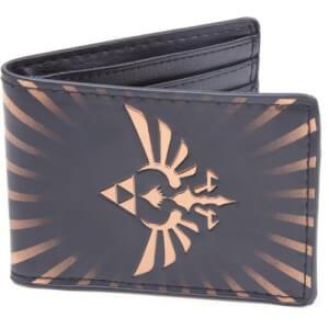 Legend of Zelda Gold Link Logo Wallet