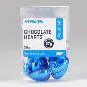 Myprotein Protein Chocolate Valentines Hearts (Pack of 10)