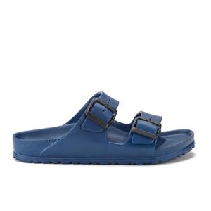 Birkenstock Women's Arizona Slim Fit Double Strap Sandals - Navy