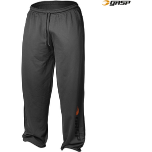 GASP Men's Basic Mesh Pants - Grey