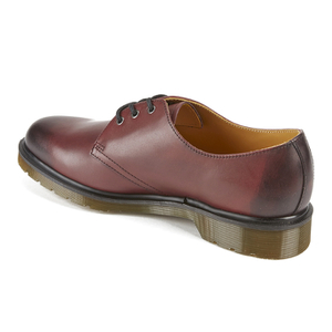 Dr. Martens Men's 1461 Antique Temperley Full Grain Smooth Leather 3-Eye Shoes - Cherry Red: Image 4