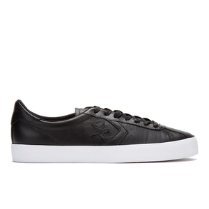 Converse Men's CONS Breakpoint Premium Leather Trainers - Black/Gold