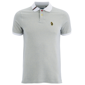 Luke 1977 Sport Men's Brahmer Luke Sport Polo Shirt - White Mix