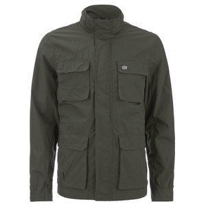 Threadbare Men's Diamond 4-Pocket Jacket - Khaki