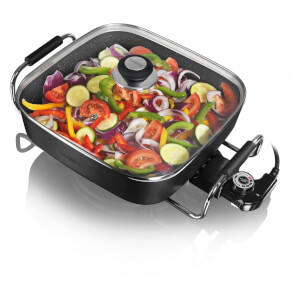 Tower T14010 Electric Saute Pan - Black - 30cm