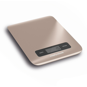 Morphy Richards 974901 Electronic Kitchen Scales - Stone