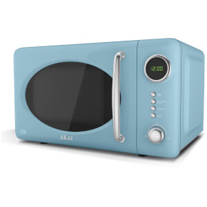 Akai A24006BL Digital Microwave - Blue - 700W