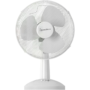 Signature S115N Desk Fan - White - 9 Inch