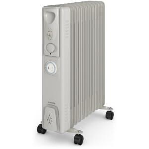 Warmlite WL43005Y Oil Filled Radiator - White - 2500W