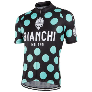 Bianchi Men's Pride Short Sleeve Jersey - Black/Green