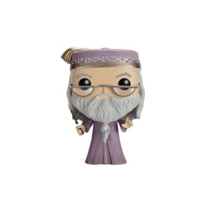 Harry Potter POP! Movies Vinyl Figur Dumbledore mit Zauberstab