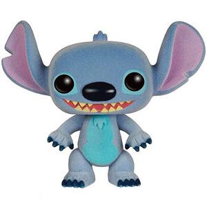 Disney Lilo and Stitch Stitch Flocked Pop! Vinyl Figure