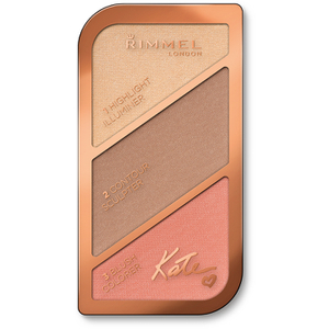 Палитра Rimmel Kate Sculpting Highlighter Palette (18,5 г) - 002