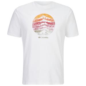 Columbia Men's Mountain Sunset T-Shirt - White