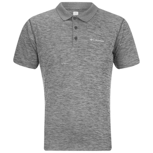 Columbia Men's Zero Rules Polo Shirt - Shark Heather