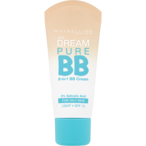 Dream Pure BB Cream SPF 15 de Maybelline Claro 30 ml
