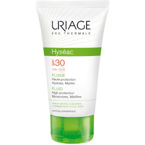 Uriage Hyséac High Protection Emulsion per pelli miste o grasse SPF30 (50ml)