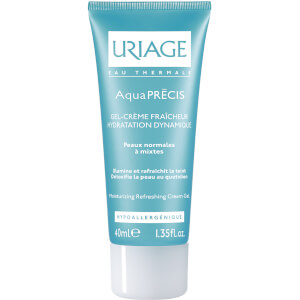 Uriage Aquaprécis Refreshing Matifying Gel Cream for Normal to Combination Skin (40ml)