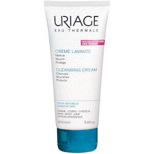 用于面部、身体和头皮的 Uriage Soap Free Cleansing Cream (200ml)